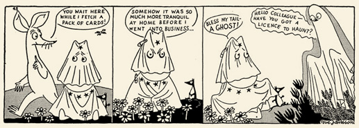 Tove Jannsen Moomin comic strip