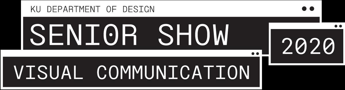 KU Senior Show Cover Graphic